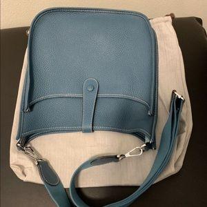 Evelyne iii pm style blue hobo bag